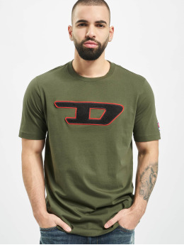Diesel Tričká T-Just-Division-D olivová