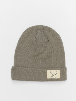 Distorted People Beanie DNA Patched oliv