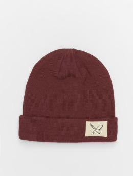Distorted People Beanie DNA Patched red