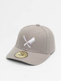 Distorted People Snapback Cap Blades Dad grey