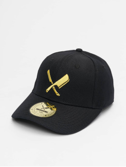 Distorted People Snapback Cap Blades nero