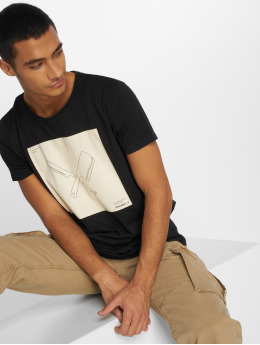 Distorted People T-Shirty DNA Boxed czarny