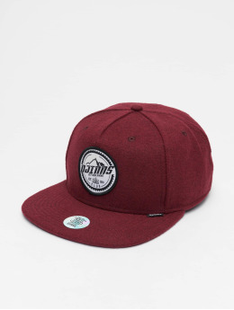 Djinns 5 Panel Cap Get High Felt 5 red