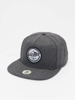Djinns 5 Panel Caps Get High Felt 5 grau