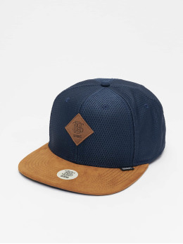 Djinns Snapback Cap 6P Honey blau