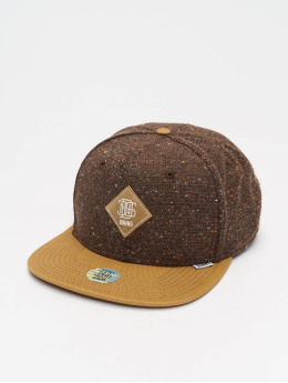 Djinns Snapback Cap 6P Ultra Spots brown