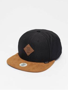 Djinns Snapback Cap 6P Honey schwarz