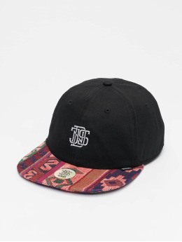 Djinns snapback cap 6P Deconstructed Aztek zwart