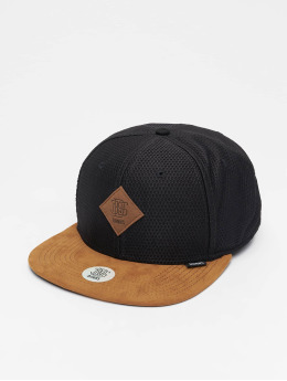 Djinns snapback cap 6P Honey zwart