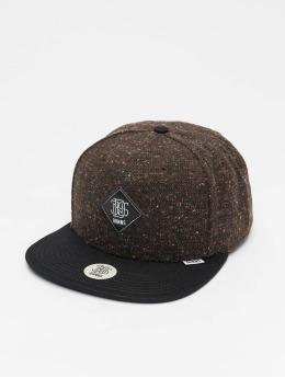 Djinns Snapback Caps 6P Ultra Spots musta