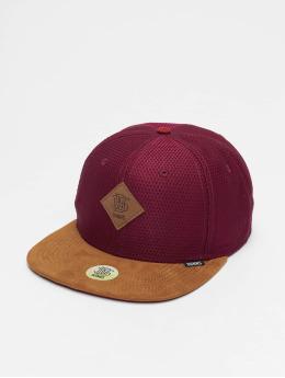 Djinns Snapback Caps 6P Honey punainen