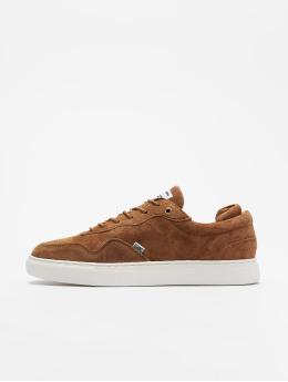 Djinns Awaike Suede Sneakers Coffee