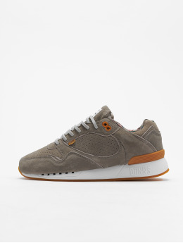 Djinns Sneaker Easy Run Indian Feel grau