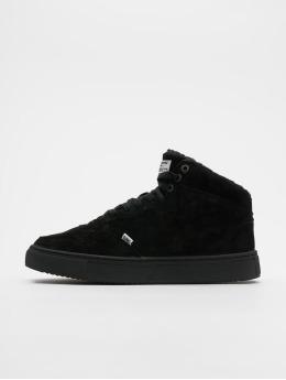 Djinns sneaker Highwaik Fur zwart