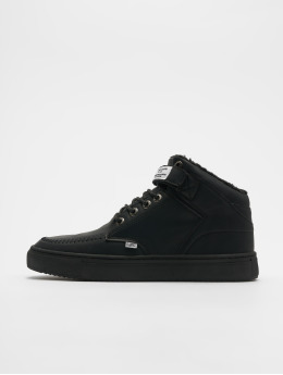 Djinns sneaker 3.0 Fur P-Leather zwart