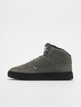 Djinns Sneakers Highwaik Fur grå