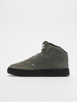 Djinns Sneakers Highwaik Fur grey