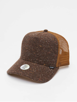 Djinns Trucker Caps HFT Ultra Spots High Fitted brun