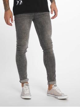 Dr. Denim Jeans slim fit Leroy  grigio