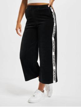 Dr. Denim Látkové kalhoty Aberl Trousers čern