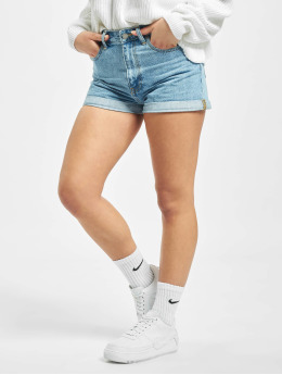 Dr. Denim shorts Jenn  blauw