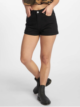 Dr. Denim Jenn Shorts Black