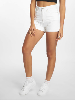 Dr. Denim Jenn Shorts White