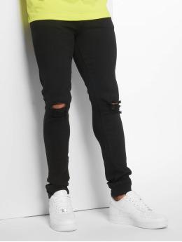 Dr. Denim Skinny Jeans Leroy čern