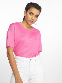 Dr. Denim | Jackie magenta Femme T-Shirt