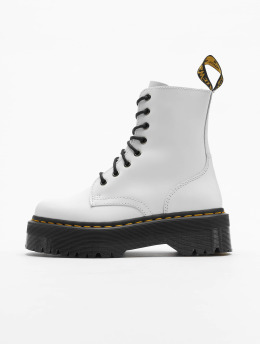 Dr. Martens Boots Jadon White Plateau 8 Eye  bianco