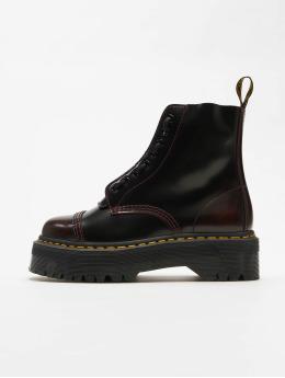 Dr. Martens Boots Sinclair Plateau 8 Eye  rood