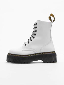 Dr. Martens Boots Jadon White Plateau 8 Eye  wit