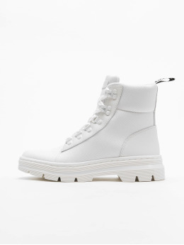 Dr. Martens Chaussures montantes Combs Tract blanc