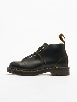 Dr. Martens Chaussures montantes Church Smooth 6 Eye noir