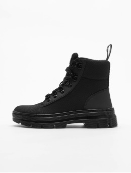 Dr. Martens Chaussures montantes Combs Tract noir