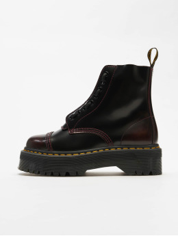 Dr. Martens Chaussures montantes Sinclair Plateau 8 Eye rouge