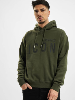Dsquared2 Hoodie Icon Hooded green