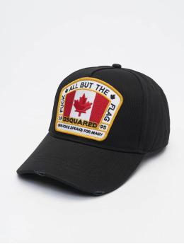 Dsquared2 Snapback Cap Canada Patch black