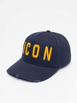 Dsquared2 snapback cap Icon  blauw