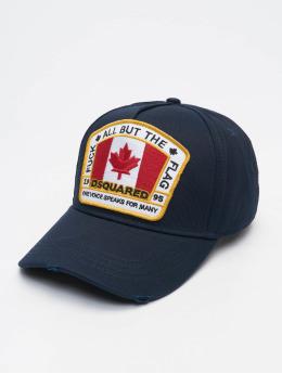 Dsquared2 Snapback Cap Canada Patch blue