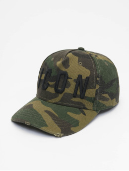 Dsquared2 Snapback Cap Icon  camouflage