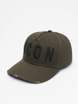 Dsquared2 snapback cap Icon  khaki