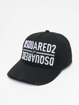Dsquared2 snapback cap 25th Dsquared2 Baseball zwart
