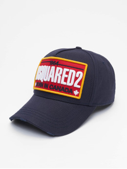Dsquared2 Snapback Caps Born In Canada blå