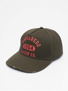 Dsquared2 Snapback Caps Caten Ed. hnědožlutý