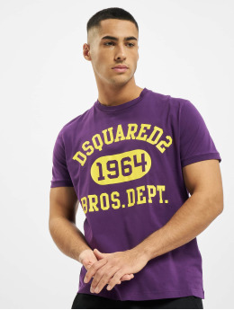 Dsquared2 T-Shirt 1964 purple