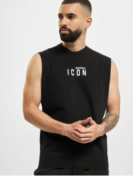 Dsquared2 Tank Tops  Icon Tank Top Black...
