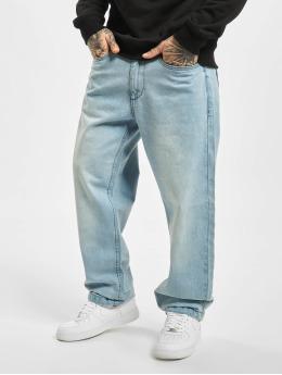 Ecko Unltd. Loose Fit Jeans Wide Leg Fit modrý