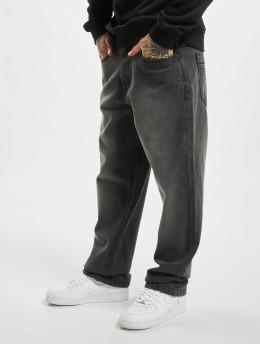 Ecko Unltd. Loose fit jeans Wide Leg Fit zwart