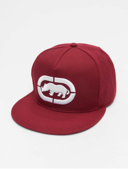 Ecko Unltd. Snapback Caps Base czerwony
